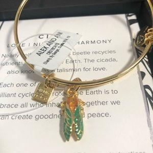 NEW Alex and Ani Cicada Adjustable Bracelet